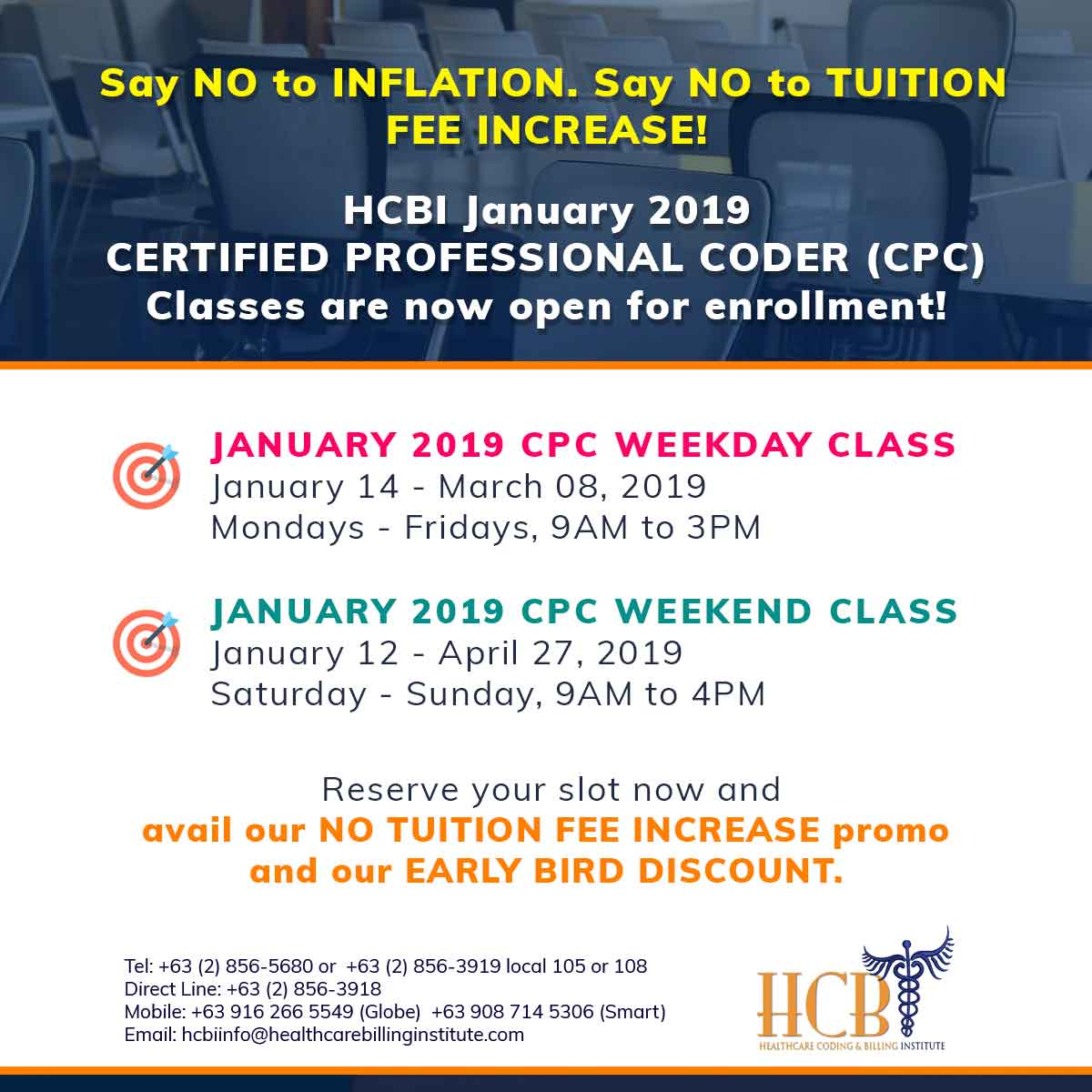 January-2019-weekday-and-weekend-class-Post, hcbi
